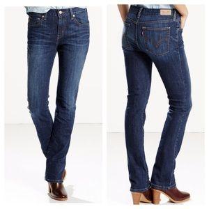 Levi's 514 Straight Leg Denim Stretch Jeans